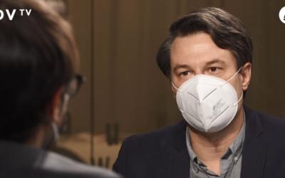 Jan Trnka v DVTV o pandemii COVID-19